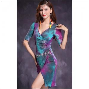 댄스복 스포츠댄스복 라틴댄스복 댄스스포츠의상 살사댄스복 무대의상 공연복 라인댄스복>7185